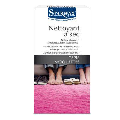 Nettoyeur à sec tapis et moquettes 500 g. Nettoyage à sec pour une utilisation régulière. Mentions Legales : Dangereux - respecter les précautions d'emploi -