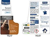 Savon entretien parquets huilés 1l