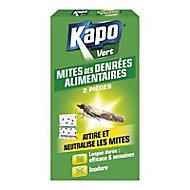 Pièges à mites alimentaires Kapo vert (x 2)