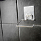 Dérouleur de papier toilette à fixer en acier chromé Bestlock Magic