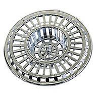 Grille anti-déchet pour évier chromé ø 70 mm