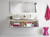 Bonde siphon XS Pure pour lavabo Hauteur 100 mm