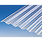 Plaque polyester petites ondes translucide- 200 x 92 cm (vendue à la plaque)