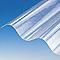 Plaque polyester grandes ondes translucide - 200 x 92 cm