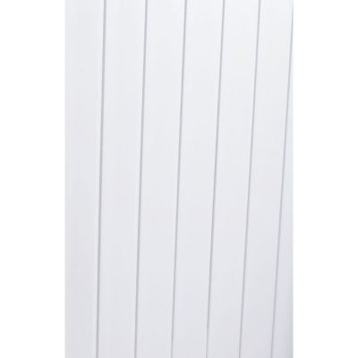 Lambris pvc blanc (vendu à la botte)   Castorama