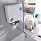 Chauffe-eau électrique Optimus sur évier + robinet