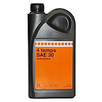 Bidon d'huile 4 temps SAE30 2L