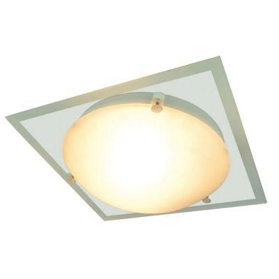 Applique Difuz Chrome/Transparent - Matière : En métal et en verre - >Ampoule fournie : oui - Monture fournie : oui - Coloris : Chrome et Transparent -