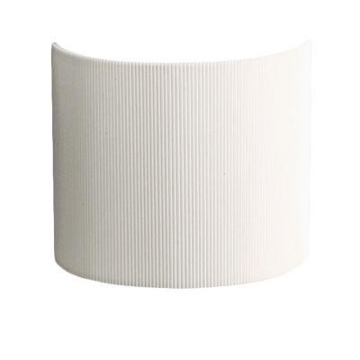 Applique tissu plissée blanche