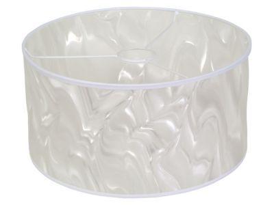Suspension Tambour Blanc D.30cm - Dimensions :Ø 30 cm - Matière :En polycarbonate - Ampoule fournie :Non - Monture fournie : Non - Coloris : Blanc - Normes : CE -