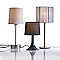 Lampe Colours Zen chrome