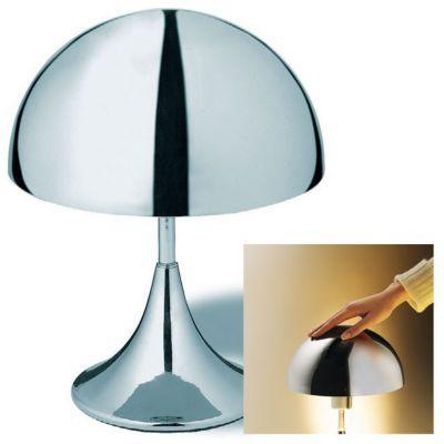 Lampe Tactile Colours Krom Chrome Castorama