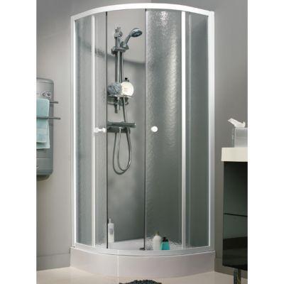paroi de douche quart de rond 90×90 castorama