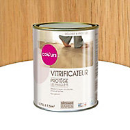 Vitrificateur Passage normal parquet Incolore satin 750 ml