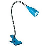 Spot pince Flex bleu LED