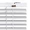 Store vénitien aluminium  blanc 45 x 130 cm