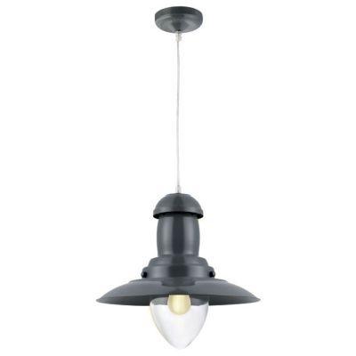 Rehaussez la décoration de votre intérieur avec la suspension luminaire Pêcheur gris zinc. Une lampe chic et moderne qui saura se faire remarquer tant son look est atypique. Une suspension originale pour un intérieur qui ne ressemble à aucun autre. Qu'att