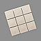Mosaïque sable 9,5 x 9,5 cm