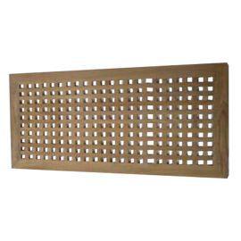 caillebotis blanc 57x57cm - tapis de bain et caillebotis ... - Caillebotis Salle De Bain Teck
