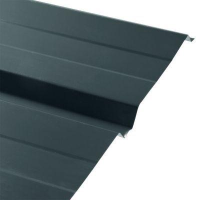 plaque acier bac acier eco grise 200 x 100 cm castorama. Black Bedroom Furniture Sets. Home Design Ideas