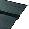 Plaque acier Bac Acier Eco grise - 200 x 100 cm (vendue … la plaque)