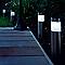 4 balises extérieures solaires CASTORAMA Sidney inox