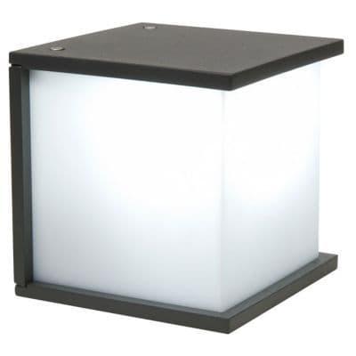applique ext rieure blooma facette gris anthracite castorama. Black Bedroom Furniture Sets. Home Design Ideas