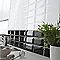 Carrelage mur noir 7,5 x 15 cm HD2I Métro (vendu au carton)