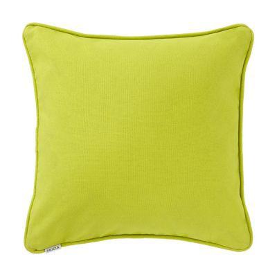 Coussin Zen Anis 40 x 40 cm - Matière : 100% coton - Dimensions : L 40 cm x l 40 cm - Déhoussable - Coloris: Anis -
