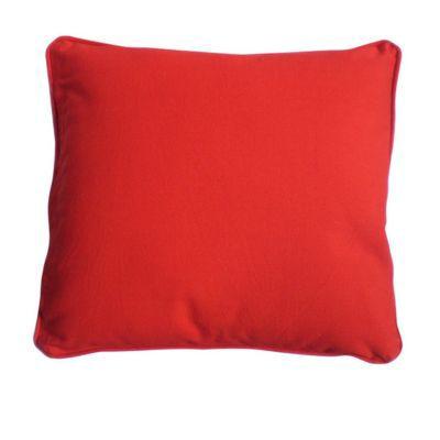 Coussin Zen Rouge 40 x 40 cm - C'est une idée simple mais incontestable. Pour un intérieur cosy, ajoutez des coussins souples et confortables. Colours a pensé à vous avec sa gamme de coussins Zen. Ce carré de 40 cm est une parfaite alliance entre le conta