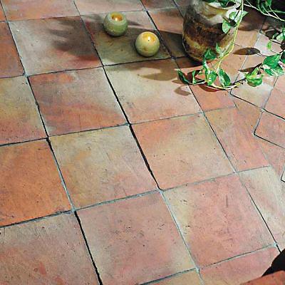 Carrelage Sol Terre Cuite 20 X 20 Cm Manuelle Vendu Au Carton Castorama