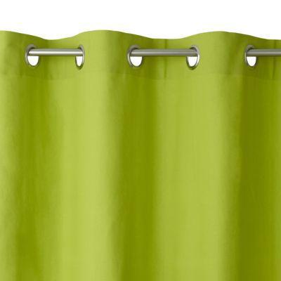 Habillez vos fenêtres avec ce joli rideau Zen coloris Anis. Un détail déco indispensable à votre intérieur. Matière : 100% coton - Dimensions : l. 140 x H 240 cm - Coloris : Anis - Finition : Oeillets métal - Le rideau Zen existe en plusieurs coloris. Con