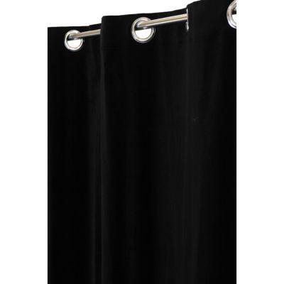Rideau COLOURS Zen noir 140 x 240 cm