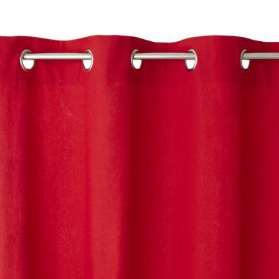 Rideau COLOURS Zen rouge 140 x 240 cm