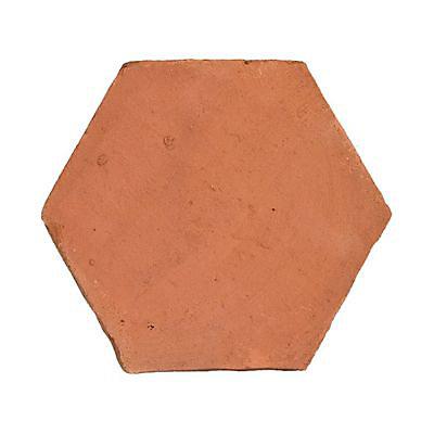 Carrelage Sol Terre Cuite 20 X 20 Cm Hexagonale Vendu Au Carton Castorama