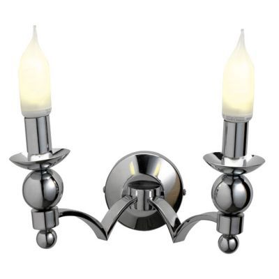 Applique chandelier chrome h.20cm 60w