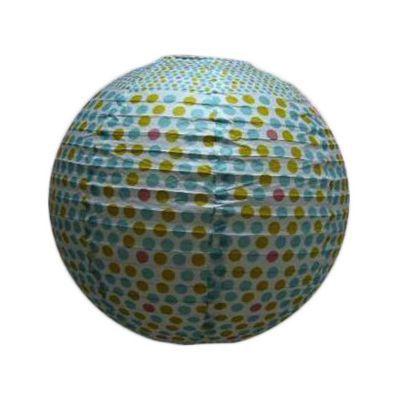 Suspension COLOURS Japan pois multicolore h.30 cm