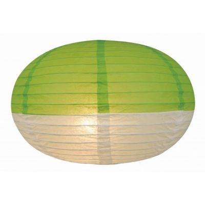 Suspension COLOURS Japan vert/blanc Ø40 cm