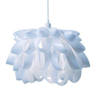 Suspension COLOURS Palm blanc h.30 cm