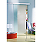 Système coulissant pour pose applique porte verre Geom Kidal