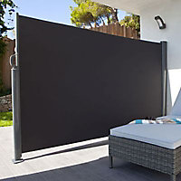 Applique LED Blooma Ross gris anthracite