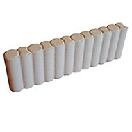 Bordure béton colonnette pierre 50 x 16 cm, ép.5,5 cm