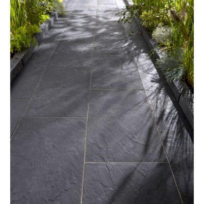 Bordure graphite 50 x 10 cm p 8 5 cm castorama - Castorama jardin scarificateur ...