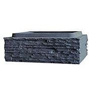 Elément de pilier 39 x 29 cm graphite