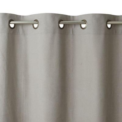 Rideau colours salla gris clair 140 x 250 cm