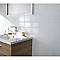 Carrelage mur blanc brillant 30 x 60,5 cm (vendu au carton)
