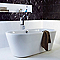 Carrelage mur blanc 30 x 60 cm Waves (vendu au carton)