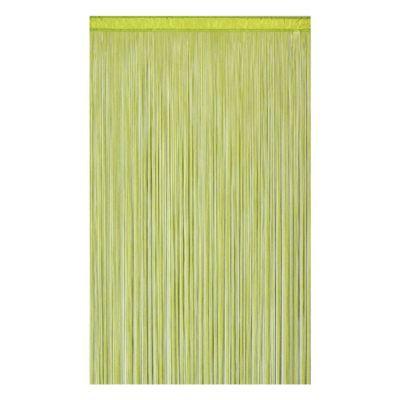 Rideau de fils COLOURS Defil' anis 110 x 240 cm