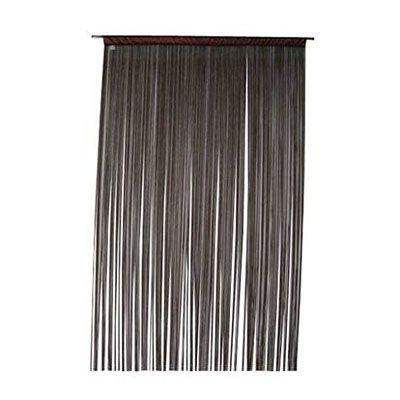 Rideau de fils COLOURS Defil' anthracite 110 x 240 cm