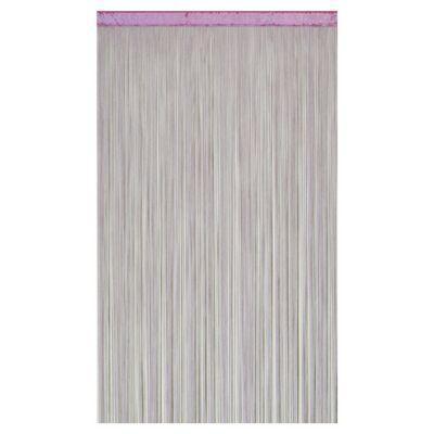 Rideau de fils COLOURS Defil' glycine 110 x 240 cm